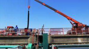 Se redeschide podul peste barajul Prundu