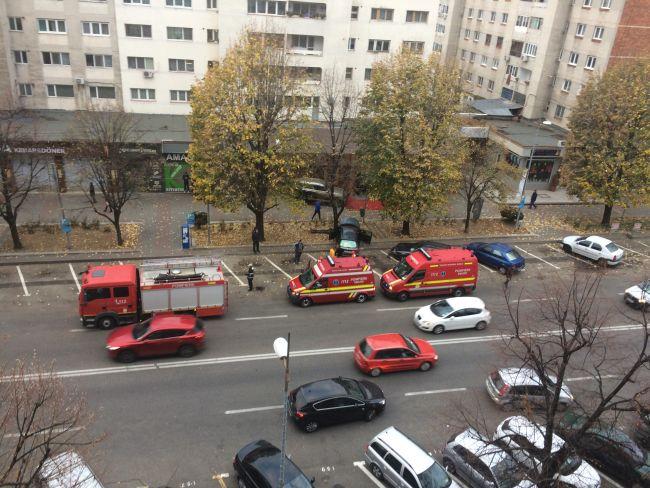 Accident cu victime pe Bd. Brătianu