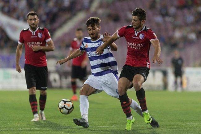 FC Argeş a punctat în deplasare