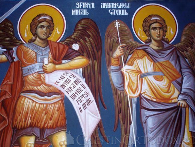Sărbătoarea Sfinţilor Arhangheli Mihail şi Gavriil Ocrotitorii Jandarmeriei Române