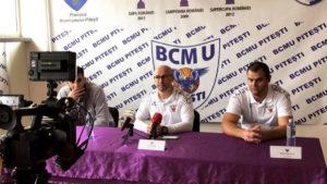 BCM U Piteşti înfruntă astăzi pe Dinamo