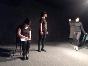 Studente la Actorie, pe scena unui festival de teatru naţional