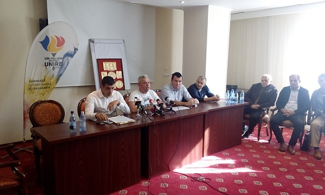 Primarul Virgil Baciu de la Corbi, proiect pentru unirea cu Republica Moldova