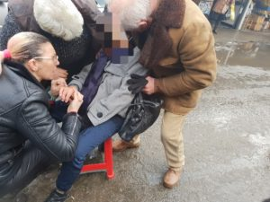Femeie luată cu TARGA din Piața CEAIR