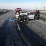 Accident cu ȘASE VICTIME pe AUTOSTRADA A1. Şoferul a greşit IEŞIREA!