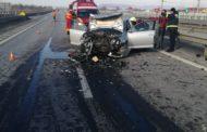 Accident cu ȘASE VICTIME pe AUTOSTRADA A1