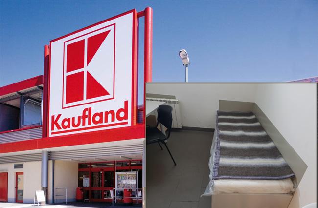 Un magazin KAUFLAND are... cameră de odihnă pentru CLIENŢI