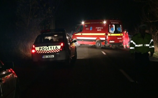 Pensionar GRAV RĂNIT într-un ACCIDENT DE CIRCULAȚIE la Stâlpeni
