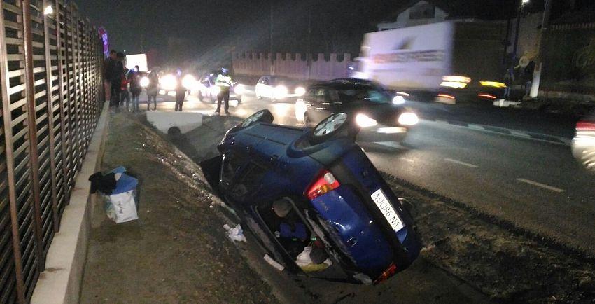 Răniţi în accidente pe drumuri din judeţ
