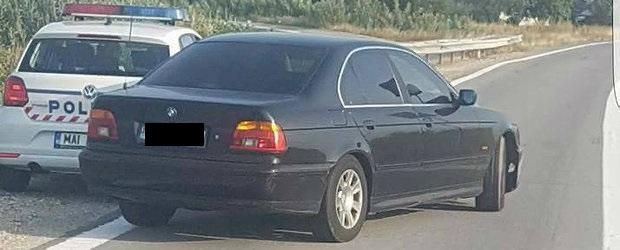 PENSIONAR CU BMW, A DAT RADARUL PESTE CAP LA PITEŞTI!