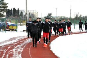 FC Argeş se pregăteşte în oraşul Basarabilor