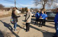 La Călineşti, Consilierul Mihai Georgescu a oferit 1500 de mărţişoare