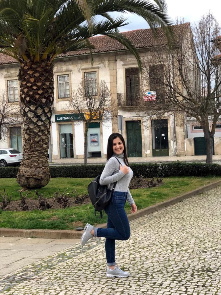 Studentă de la UPIT, super experienţă în Portugalia!