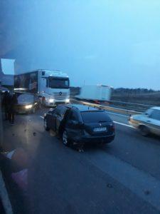 NOU-NĂSCUT SCĂPAT TEAFĂR DINTR-UN ACCIDENT pe Autostrada A1