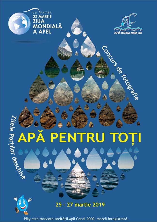 Ziua Mondială a Apei, aniversată de Apă Canal