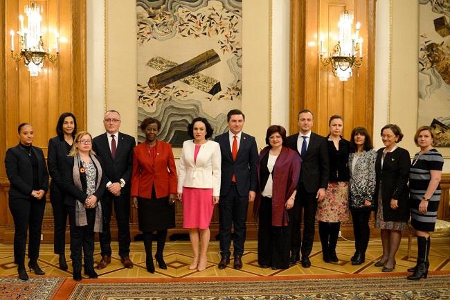 Simona Bucura Oprescu, întâlnire cu secretarul general al OIF