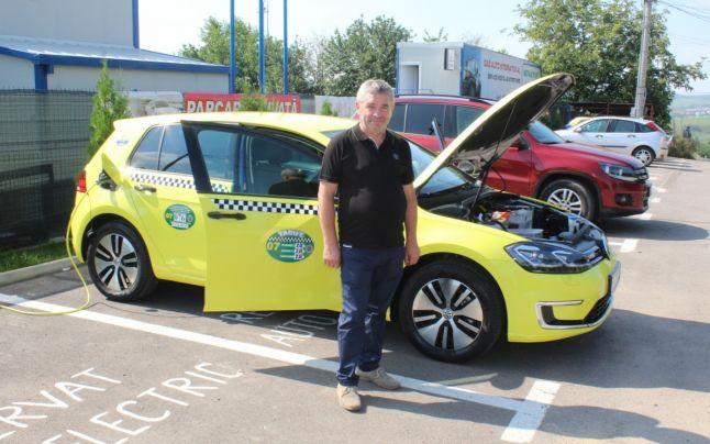 Taxiuri electrice în Pitești, prima decizie în