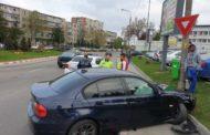 Accident în giratoriul de la KAUFLAND Craiovei!