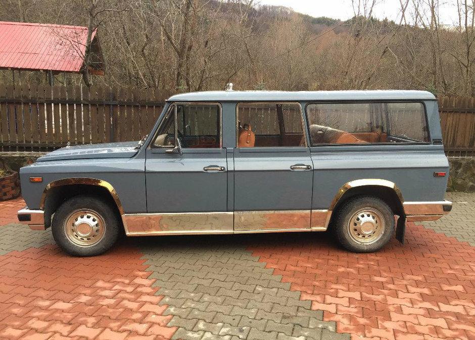 Fiscul amână vânzarea maşinii ARO a lui Ceauşescu