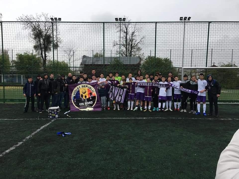 Juniorii de la FC Argeş, victorie pentru Liga Elitelor