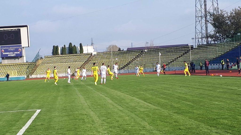FC Argeş a dat