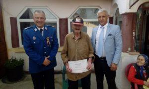 Cu sprijinul lui Mihai Georgescu, veteranii de război au fost omagiați și la Călinești