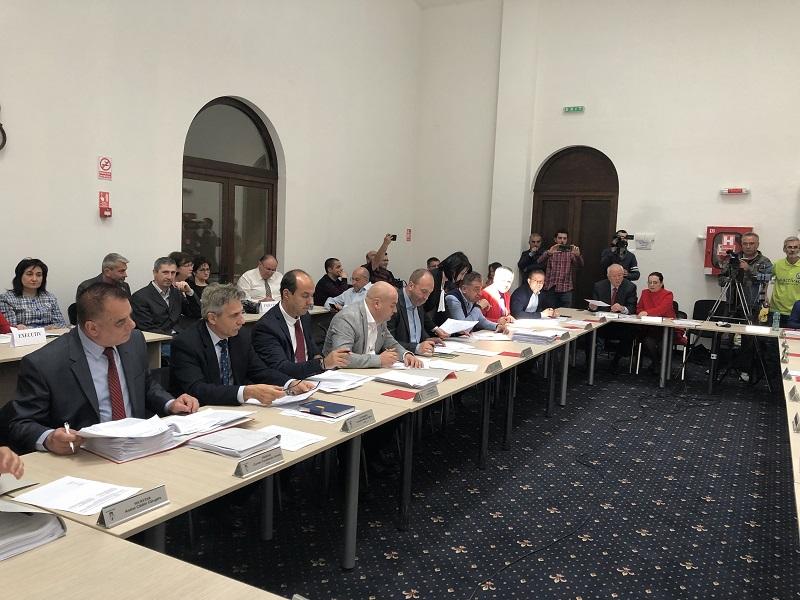 În Consiliul Local Piteşti, doar ALDE a fost în... opoziţie cu PSD