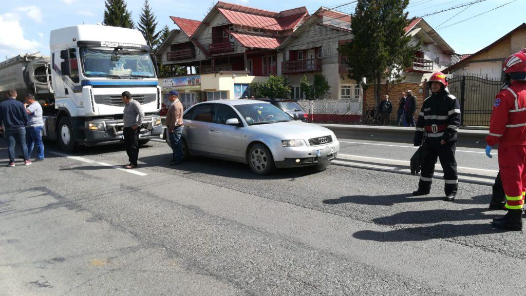 Răniți în accident la Mărăcineni
