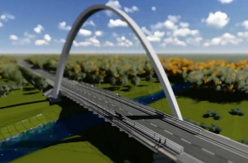 Un nou pod în Mioveni?
