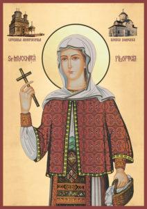Veşmintele Sf. Filoteea au ajuns la Medgidia