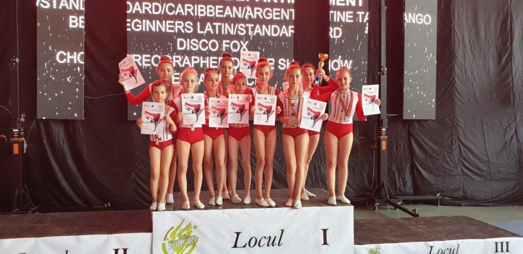 Echipa Piteşteană de dansatori de la STARFIX, 8 LOCURI 1 LA WADF DANCE OPEN