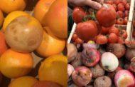 La HIPERMARKET, fructele - o bătaie de joc! Clienţii, REVOLTAŢI