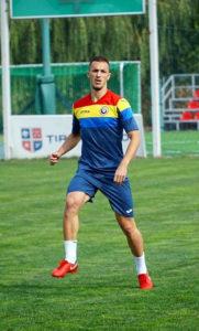 Un fotbalist argeşean la lotul de tineret