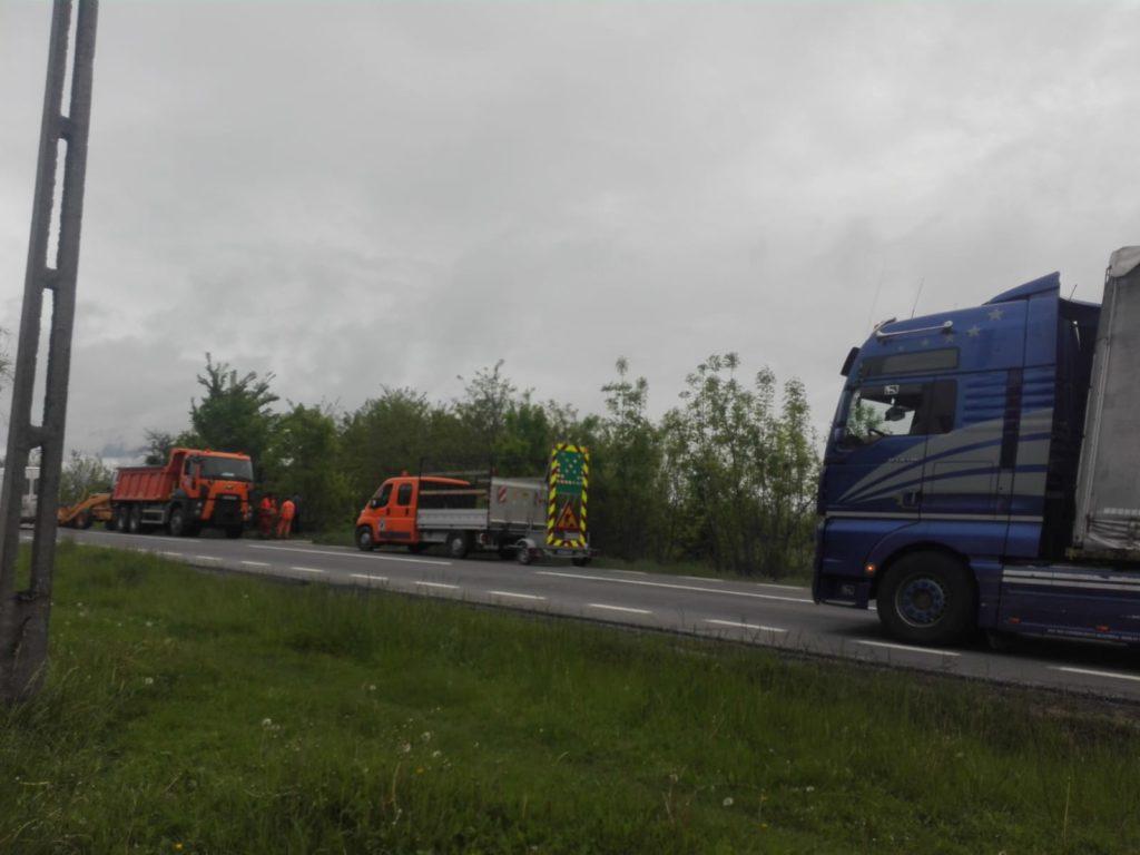 Lucrările la drumul expres Piteşti-Craiova au fost oprite!