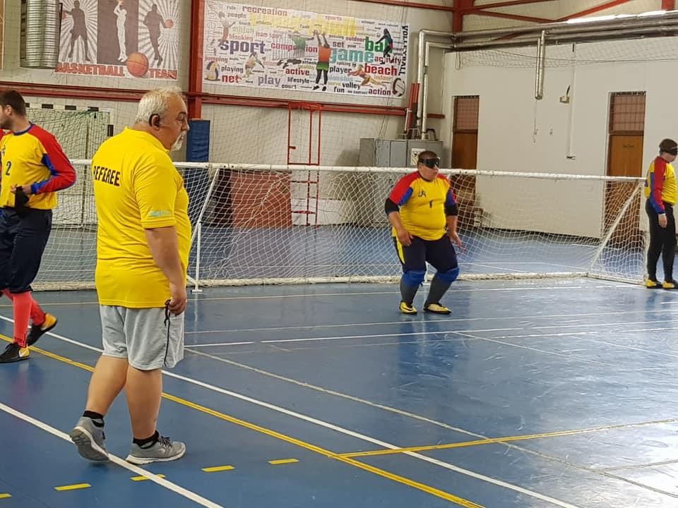 Nevăzătorii argeşeni, locul al III-lea la goalball
