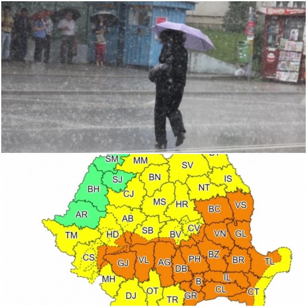 Cod portocaliu de ploi torenţiale