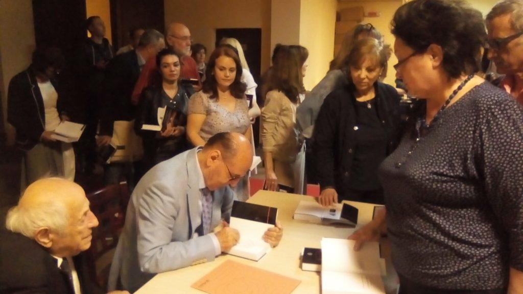 Dumitru Constantin Dulcan -  lansare de carte   eveniment