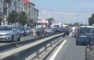 Accident GRAV la Mărăcineni! Un şofer a ajuns la spital cu oasele rupte