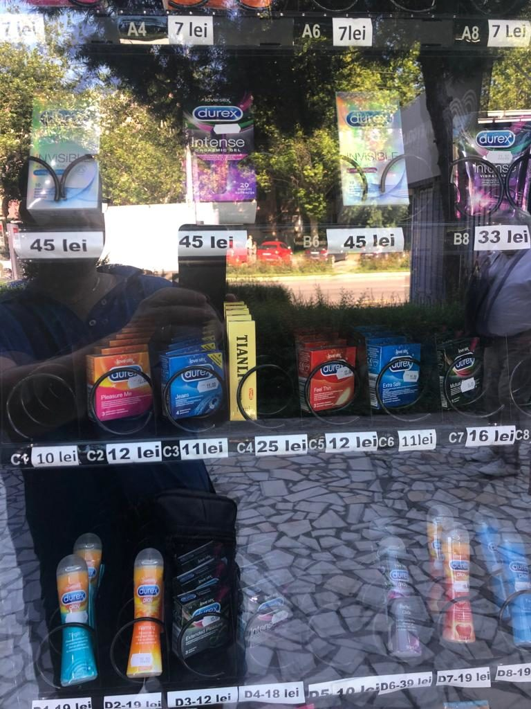 Nimeni nu a observat? Automat pentru SEX în Craiovei!