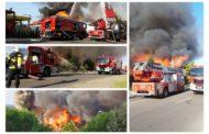 Incendiu DEVASTATOR la fostul RESTAURANT