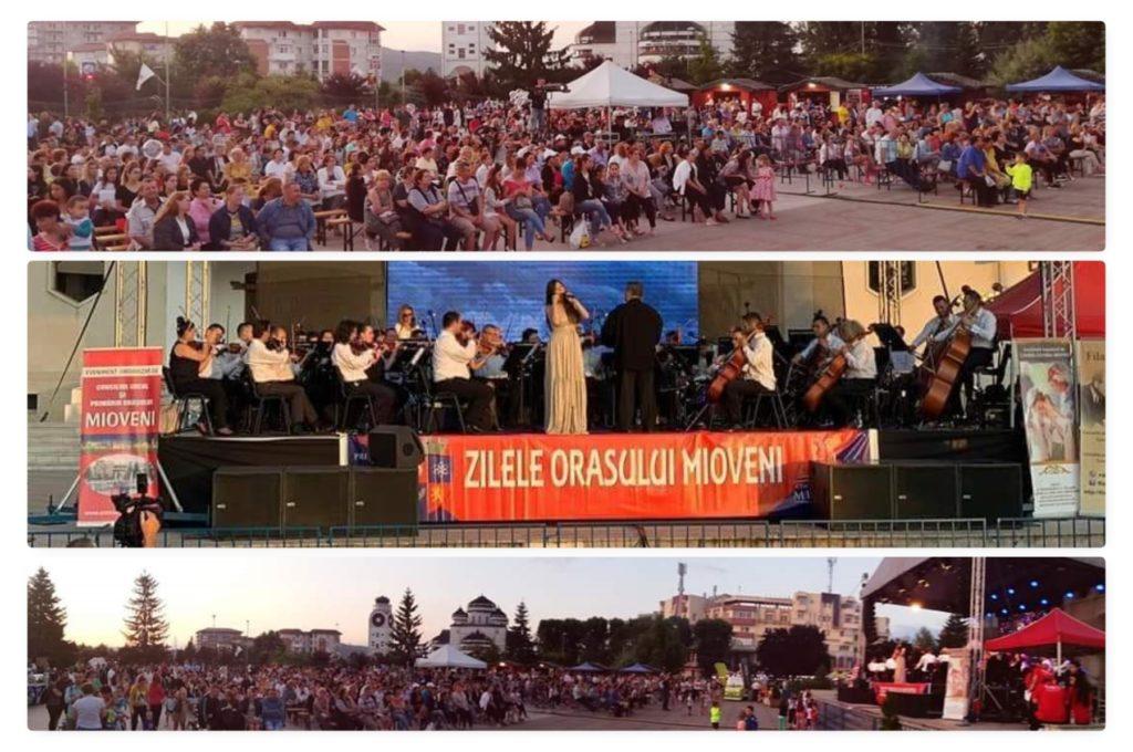 Spectacol total la Zilele Oraşului Mioveni!