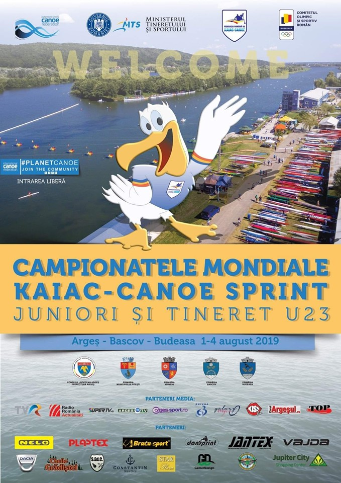 Mâine, în Piața Vasile Milea - Deschiderea oficială a Campionatului Mondial de Kaiac Canoe