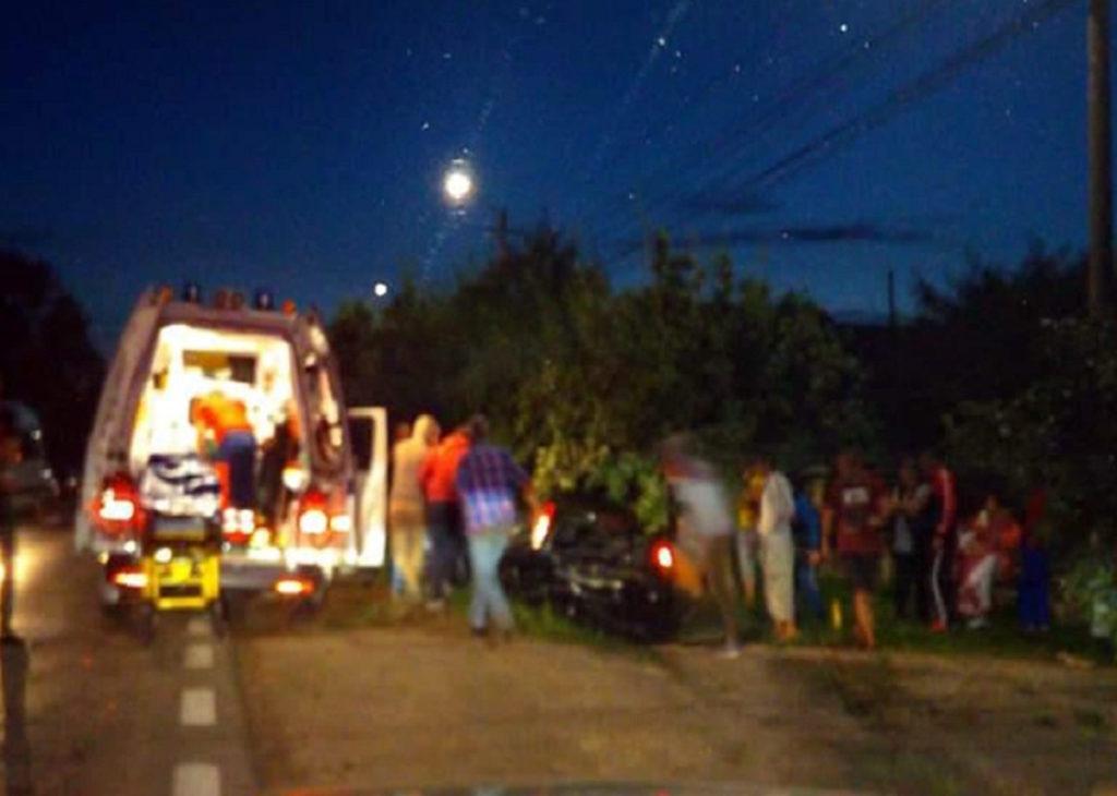 Accident cu şapte persoane la Călineşti