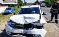 Accident cu Logan-uri la Albota!