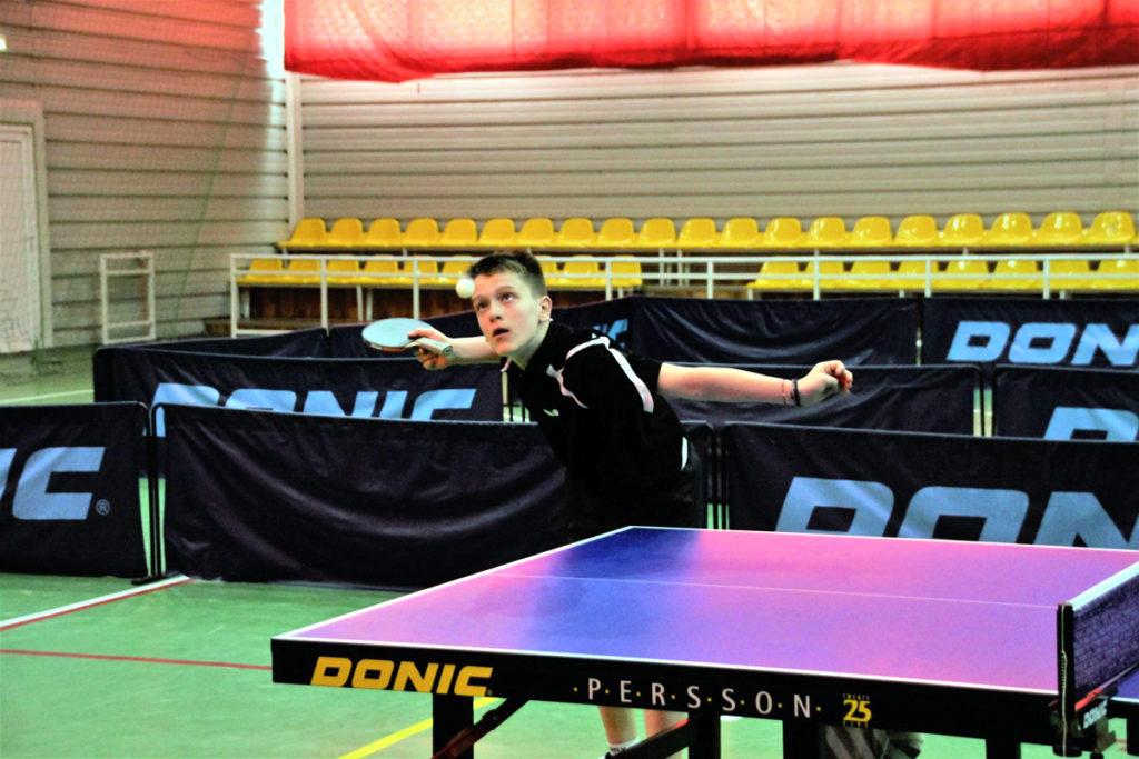 Iulian Chiriţă, vicecampion european la tenis de masă