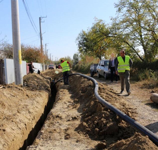 Proiectul reţelei de gaze din Clucereasa - în linie dreaptă