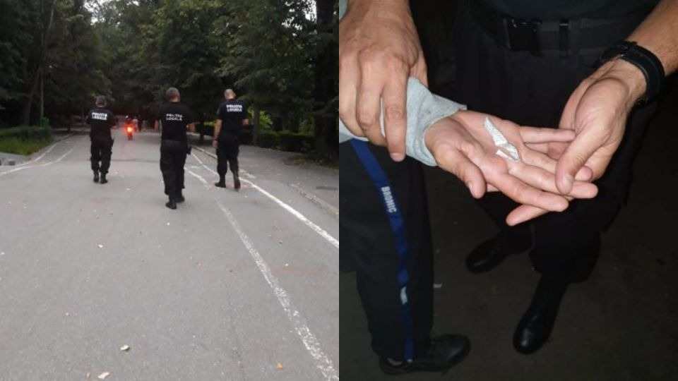 De la trei rotocoale de fum şi un chiştoc, preluaţi de ofiţerii ANTIDROG!