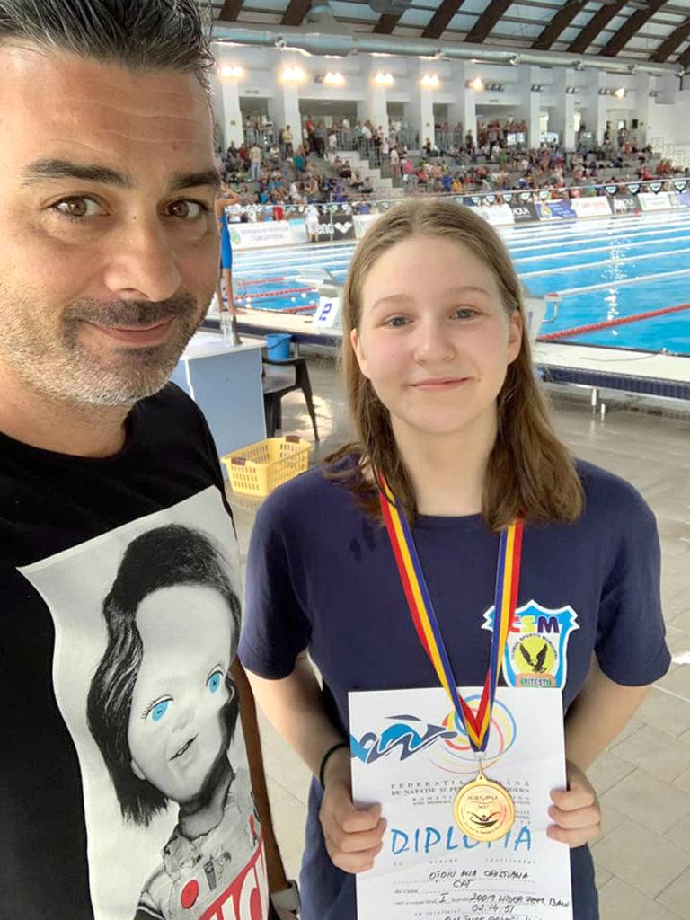 Înotătorii piteşteni, campioni naţionali