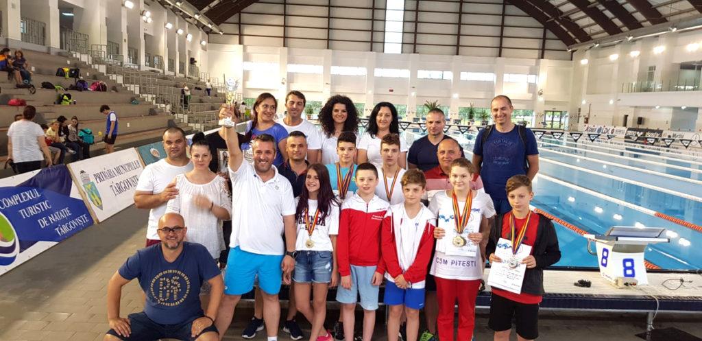CSM Piteşti, pe podium la Campionatele Naţionale de înot