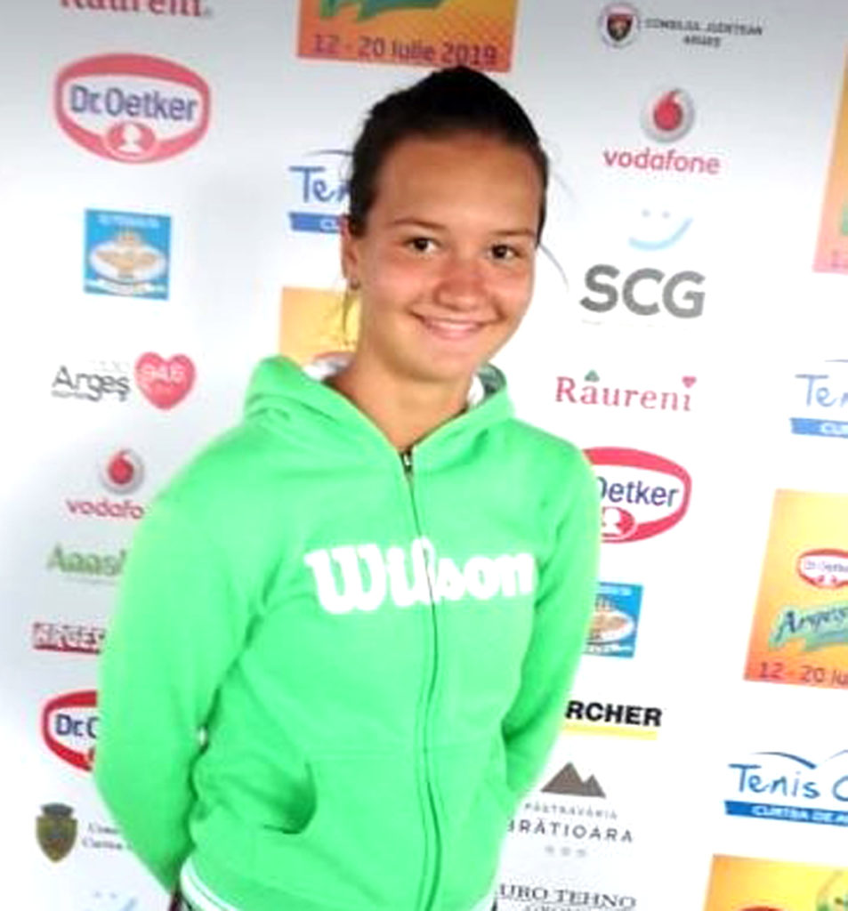 Fiica Ruxandrei Dragomir, la Argeş Cup Dr. Oetker